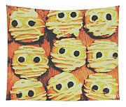 Creepy And Kooky Mummified Cookies  Tapestry