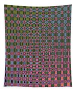 Crepe Myrtle Abstract Tapestry
