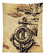 Crest Of Oceanic Adventure Tapestry