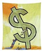 Crisis And Money Tapestry