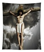 Crista En 3d Tapestry