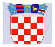 Croatia Coat Of Arms Tapestry