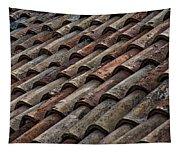 Croatian Roof Tiles Tapestry