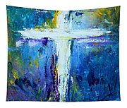Cross - Painting #4 Tapestry