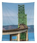 Crossing Columbia Tapestry