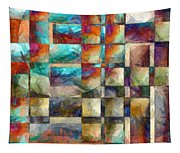 Crossover Abstract Pencil Tapestry