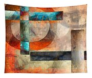 Crossroads Abstract Tapestry