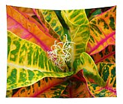 Croton Leaves Tapestry