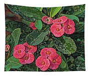 Crown Of Thorns Delight Tapestry