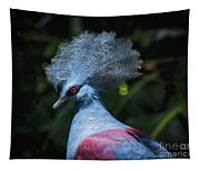 Crowned Pigeon Tapestry