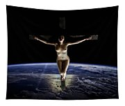 Crucified Tellus Tapestry