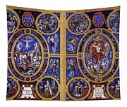 Crucifixion And Resurrection  Tapestry