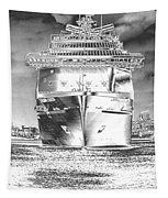 Cruise Ships In Chrome Tapestry