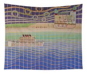 Cruise Vacation Destination Tapestry