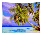 Crystal Blue Persuasion Tapestry