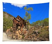 Crystal Colorado Historic Mill Tapestry