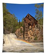 Crystal River Rainbow Tapestry