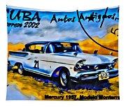 Cuba Antique Auto 1957 Mercury Monterrey Tapestry