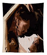 Cubism Series Xxv Tapestry
