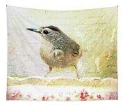 Curious Catbird Tapestry