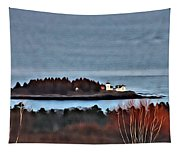 Curtis Island Light Tapestry