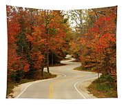 Curvy Fall Tapestry