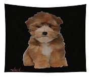 Cute Puppy Tapestry