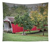 Cutler-donahoe Covered Bridge Tapestry