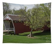Cutler - Donahoe Covered Bridge - Madison County - Iowa Tapestry