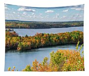 Cuyuna Country State Recreation Area - Autumn #1 Tapestry
