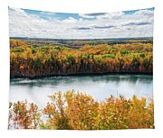 Cuyuna Country State Recreation Area - Autumn #2 Tapestry