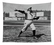 Cy Young With The Boston Americans 1908 Tapestry