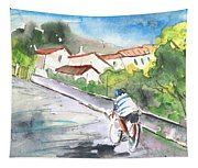 Cycling In Italy 01 Tapestry