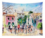 Cycling In Majorca 05 Tapestry