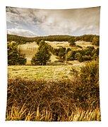 Cygnet Rustic Farming Fields Tapestry