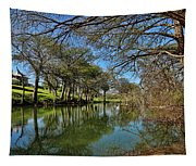 Cypress Bend Park Reflections Tapestry