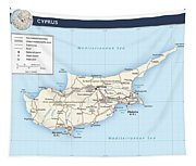 Cyprus 2 Tapestry