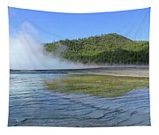 D09127 Reflection In Grand Prismatic Spring Tapestry