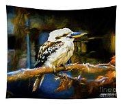 Kookaburra Dacelo Novaeguineae Tapestry