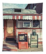 Daddypops Tumble Inn Diner Claremont New Hampshire Tapestry by Edward Fielding