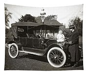Daddy's Motorized Baby Buggy Tapestry