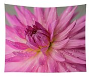 Dahlia After The Rain Tapestry