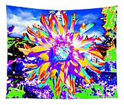 Dahlia Dazzle Tapestry