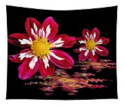 Dahlia Reflections Tapestry