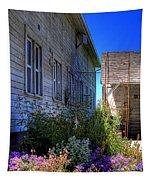 Dahmen Barn Flowers Tapestry