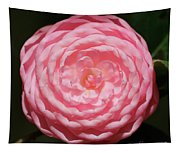 Dainty Pink Camellia Tapestry