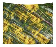 Daisy Abstract Tapestry