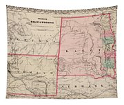 Dakota And Wyoming Tapestry