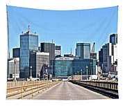 Dallas In The Rear View Tapestry