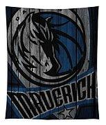 Dallas Mavericks Wood Fence Tapestry